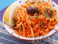 Рецепта Морковена салата